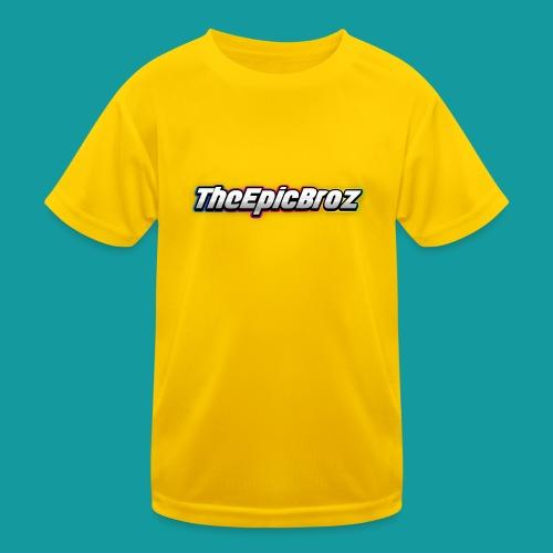 TheEpicBroz - Functioneel T-shirt voor kinderen