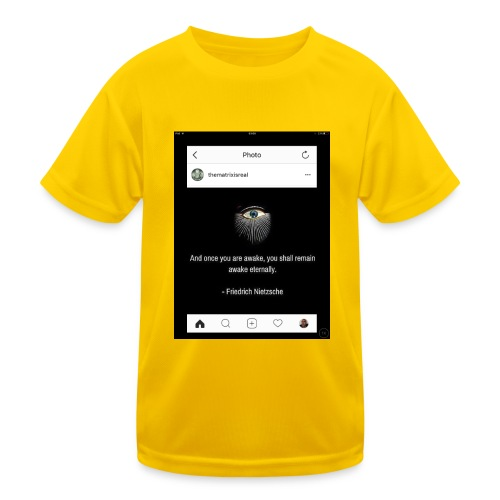 81F94047 B66E 4D6C 81E0 34B662128780 - Kids Functional T-Shirt