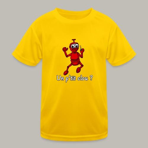 Back to 80's - T-shirt sport Enfant