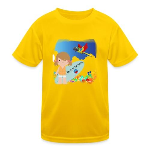 Surf Girl Reunion Island - T-shirt sport Enfant