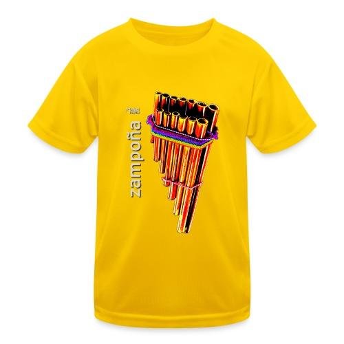 Zampoña clara - Kids Functional T-Shirt