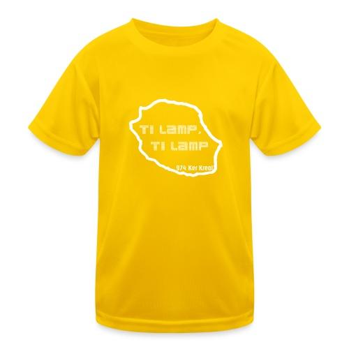 Ti lamp ti lamp - blanc - T-shirt sport Enfant