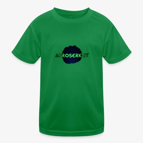 AfroSerkut LOGO - Lasten tekninen t-paita