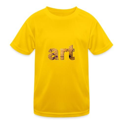 art - T-shirt sport Enfant