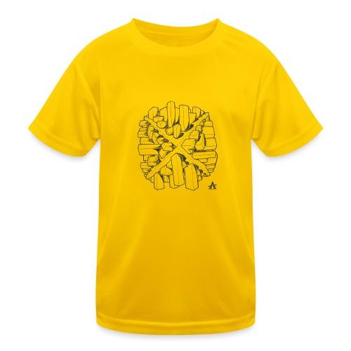 croix en perspective - T-shirt sport Enfant