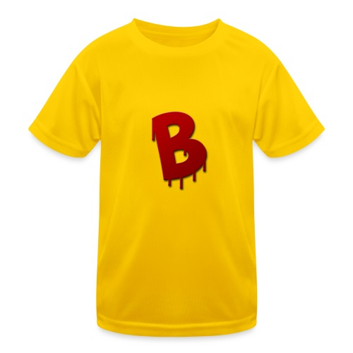 Rood Bartjuh - Functioneel T-shirt voor kinderen