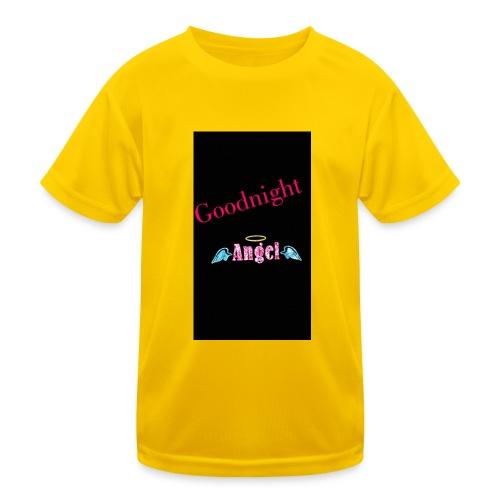 goodnight Angel Snapchat - Kids Functional T-Shirt