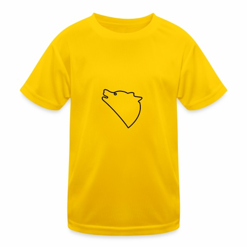 Wolf baul logo - Functioneel T-shirt voor kinderen