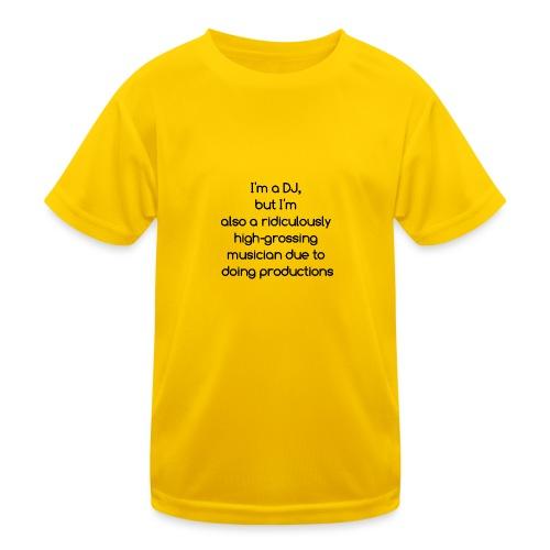 IM A DJ! - Functioneel T-shirt voor kinderen