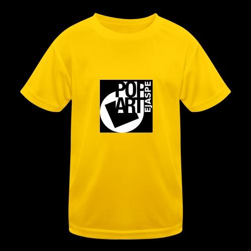 ejaspepopart - Camiseta funcional para niños