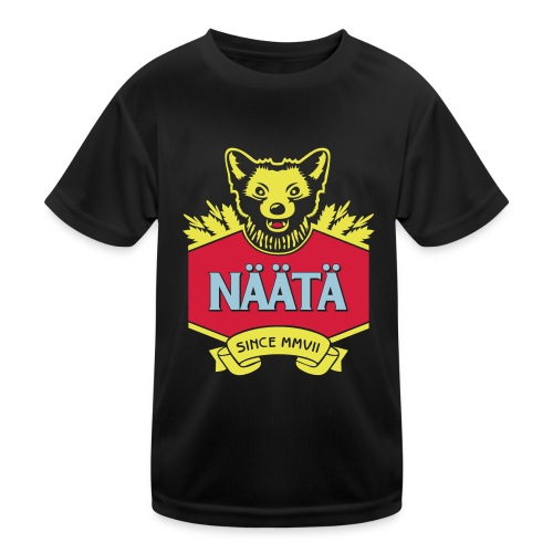 Näätä - Lasten tekninen t-paita