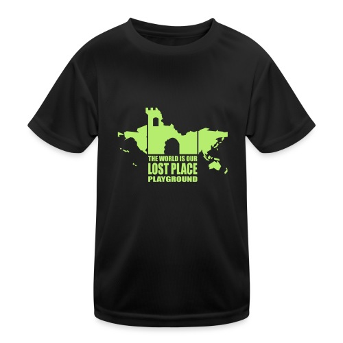 Lost Place - 2colors - 2011 - Kinder Funktions-T-Shirt