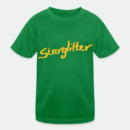 Starglitter - Lettering - Kids Functional T-Shirt