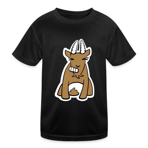 Scheissbock - Kinder Funktions-T-Shirt