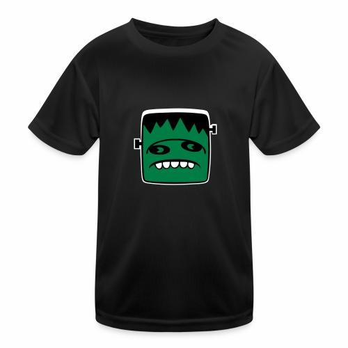 Fonster Weisser Rand ohne Text - Kinder Funktions-T-Shirt