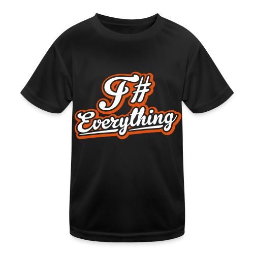 F# Everything - Kids Functional T-Shirt