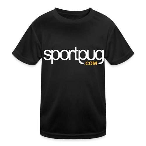 SportPug.com - Lasten tekninen t-paita
