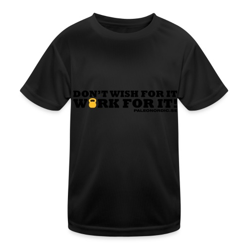 workforitsmal - Funktions-T-shirt barn