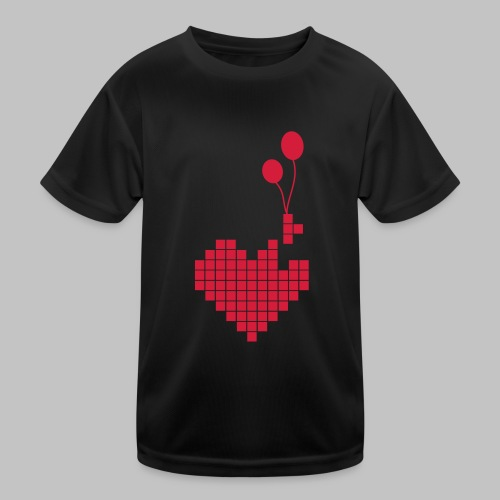 heart and balloons - Kids Functional T-Shirt