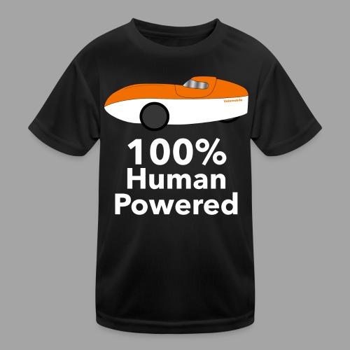 Human Powered WAW - Lasten tekninen t-paita