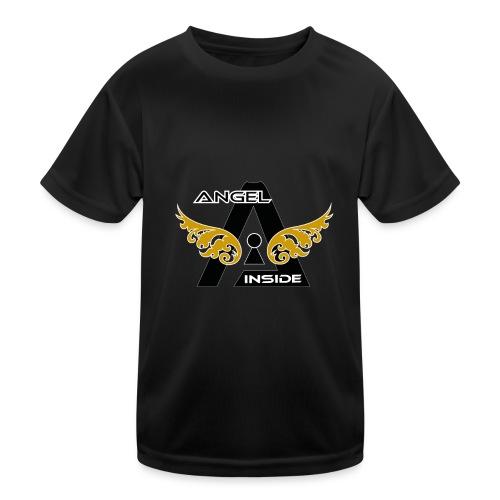 ANGEL INSIDE2-01 - Maglietta sportiva per bambini