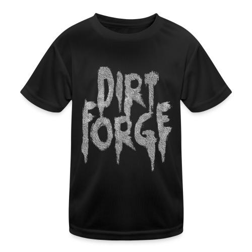 Dirt Forge Gravel t-shirt - Funktionsshirt til børn