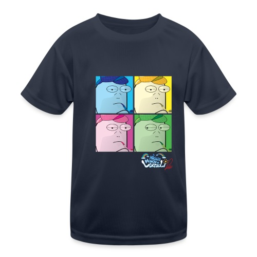 Commissario Warhol - Maglietta sportiva per bambini