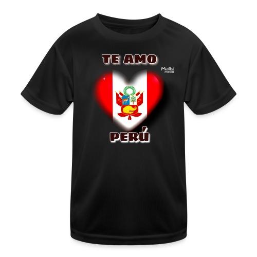 Te Amo Peru Corazon - Kids Functional T-Shirt