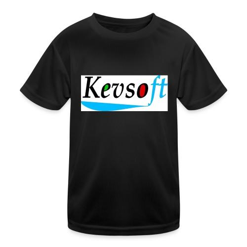Kevsoft - Kids Functional T-Shirt