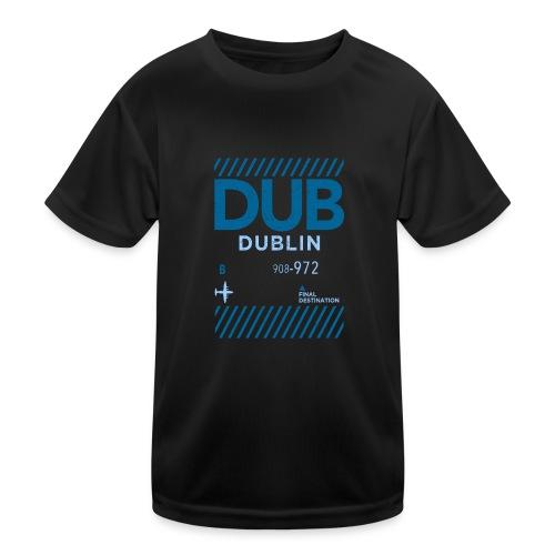 Dublin Ireland Travel - Kids Functional T-Shirt