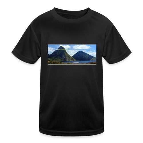 believe in yourself - Kids Functional T-Shirt