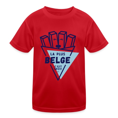 La+Belge - T-shirt sport Enfant