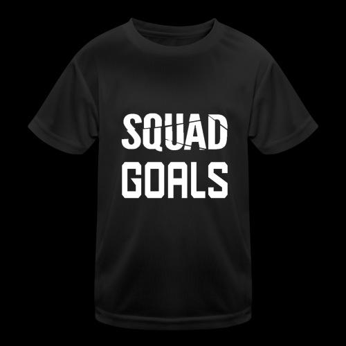 squad goals - Functioneel T-shirt voor kinderen