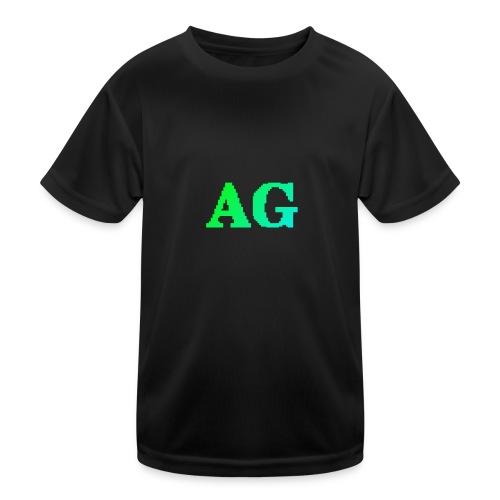 ATG Games logo - Lasten tekninen t-paita