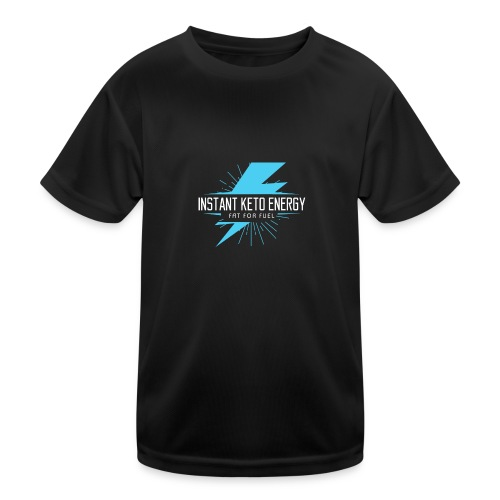instantketoenergy - Kinder Funktions-T-Shirt