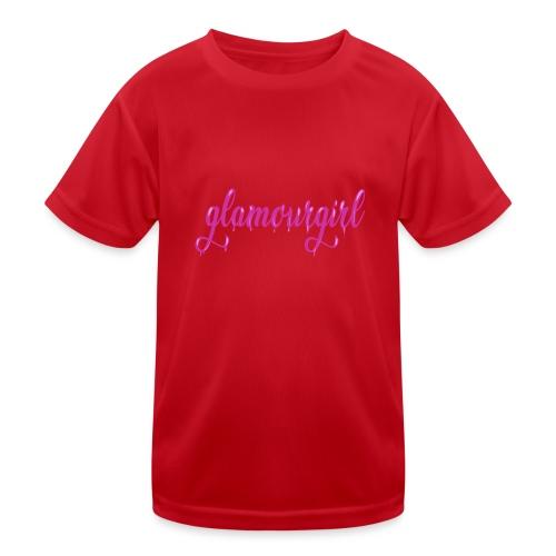 Glamourgirl dripping letters - Functioneel T-shirt voor kinderen