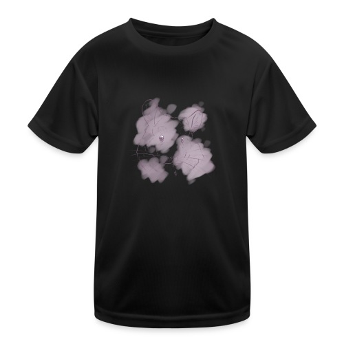Violet splash chinchilla 2 - Lasten tekninen t-paita