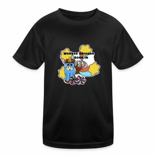 Une merveilleuse licorne est née (pour garcon) - T-shirt sport Enfant