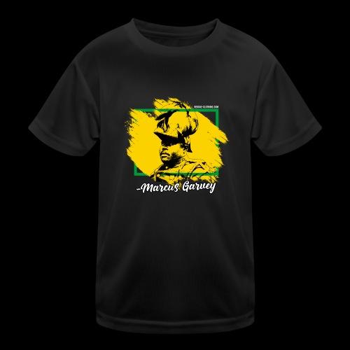 MARCUS GARVEY by Reggae-Clothing.com - Kinder Funktions-T-Shirt