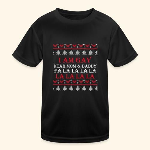 Gay Christmas sweater - Funkcjonalna koszulka dziecięca