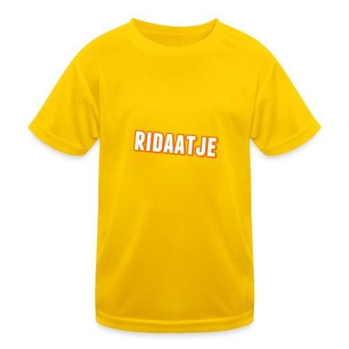 Ridaatje T-Shirt. - Functioneel T-shirt voor kinderen