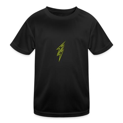 fulmine - Maglietta sportiva per bambini