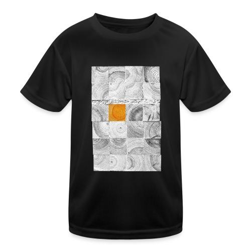 Cubes de Bois - T-shirt sport Enfant