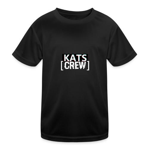 KATS CREW Logo - Funkcjonalna koszulka dziecięca