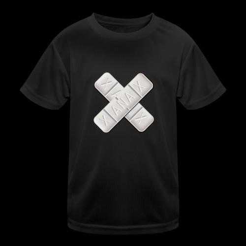 Xanax X Logo - Kinder Funktions-T-Shirt
