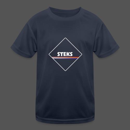 3Color STEKS™ Logo - Functioneel T-shirt voor kinderen