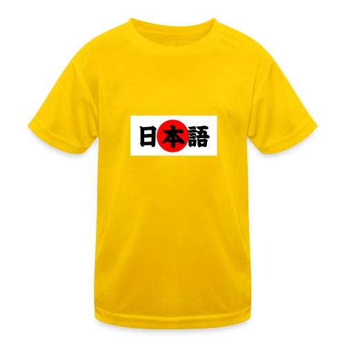 japanese - Lasten tekninen t-paita