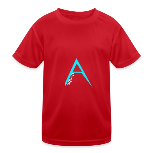 ANGISTEF SQUAD LOGO - Funktions-T-shirt barn