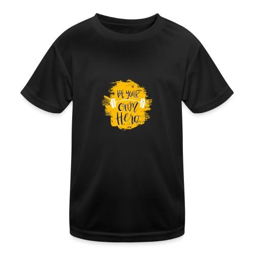 GYM Hero - Lasten tekninen t-paita