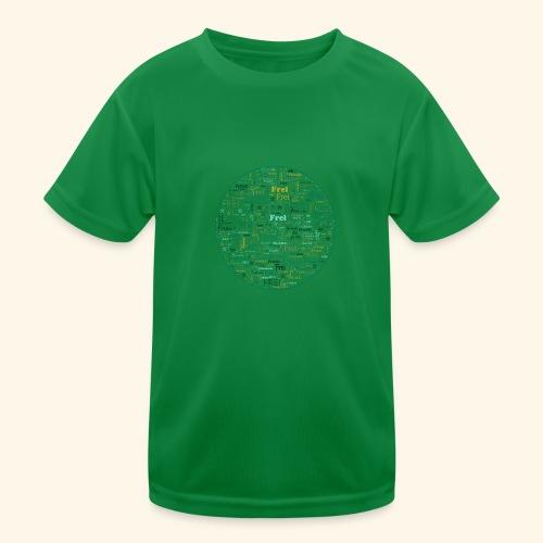 Ich bin - Kinder Funktions-T-Shirt